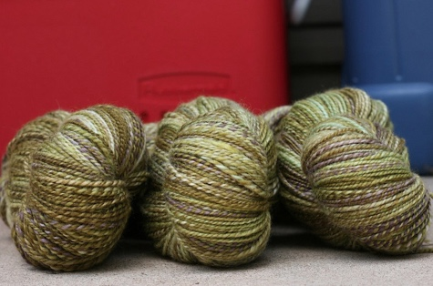 christina's pretty handspun