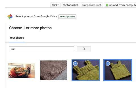 google photos search