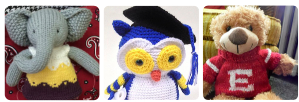 school color stuffies