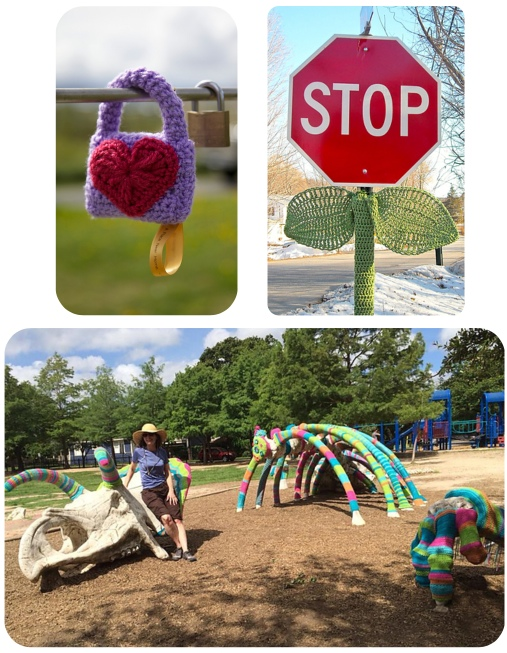 squam yarn bombs