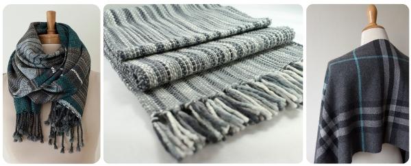 recent weaving bluey grey